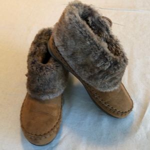 💎Airwalk moccasins. GUC. Girls, size 1